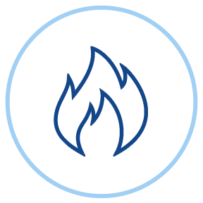 Heating Service Icon